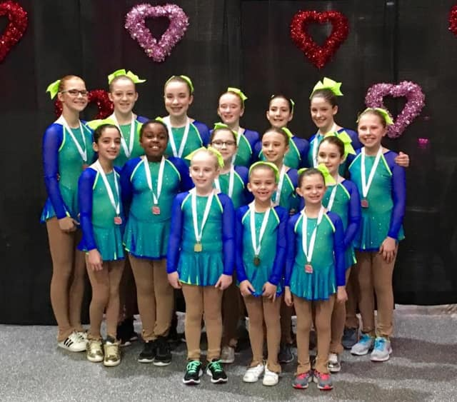 Girls from the Southern CT Synchronized Skating team and the Skating Club of Southern CT will perform at a free showcase on Sunday, March 19.