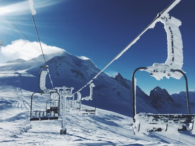 A Short Hills man died of asphyxiation after falling through a gap in a chair lift at Vail Mountain's Blue Sky Basin.