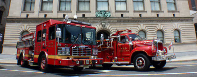 A cooking mishap started a small fire in Newark and left a man injured, officials said.