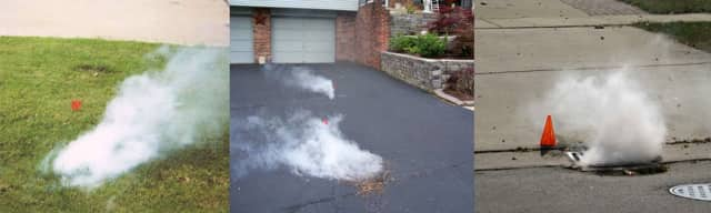 Sewer smoke testing is coming to Scarsdale.