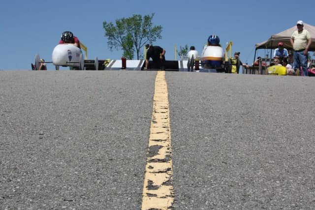 The Soapbox Derby sponsored by the Elmwood Park Centennial Committee is being rescheduled.