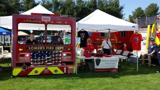 The Somers Volunteer Fire Department is hosting its annual open house Oct. 15.