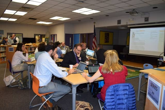 Somers educators recently went on a field trip to observe instructional technology.