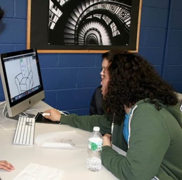 Students at Southern Westchester BOCES participate in a recent STEM day. BOCES is hosting the first regional STEM festival for middle-school students this Saturday, March 5, in Valhalla.