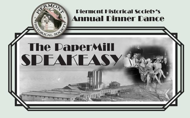 Piermont Historical Society's annual dinner dance will take place March 10.