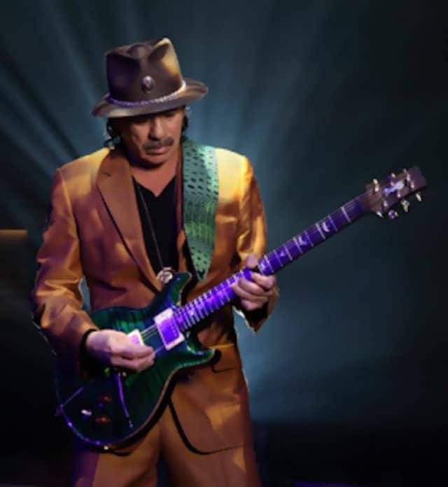 The legendary Santana, featuring Carlos Santana, will headline this year's annual Bardavon Gala.