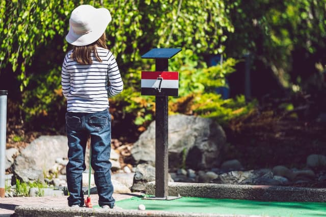 Tiki Action Park in Centereach has been voted the best mini golf park on Long Island.