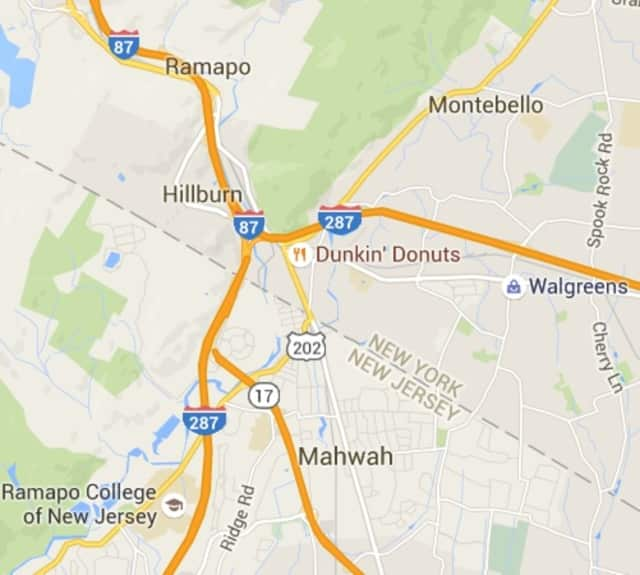 Map Of 287 New York.Route 287 Delays Continue From Gas Leak Across Mahwah Border