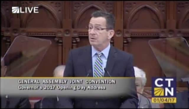 Gov. Dannel P. Malloy delivers his annual State of the State Address Wednesday to a joint session of the Connecticut General Assembly.