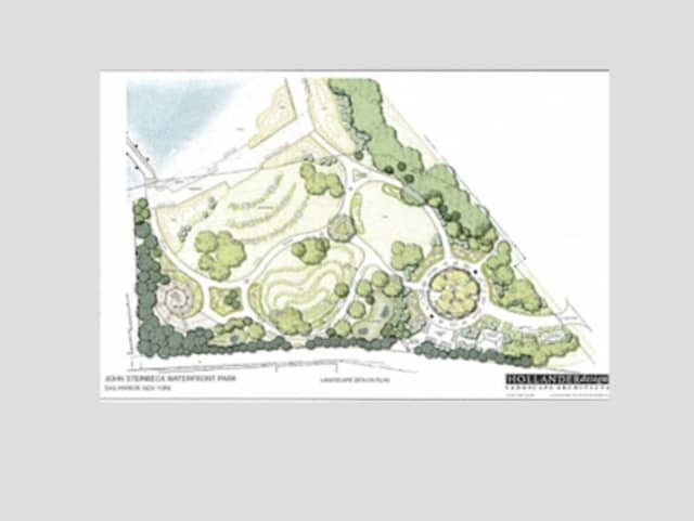 Work will soon begin on a waterfront park in Sag Harbor named for a famous author and resident.