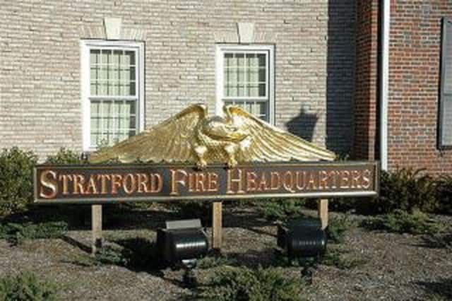 Stratford Police apprehended two suspects who reportedly stole items out of employee cars behind the Fire Headquarters.