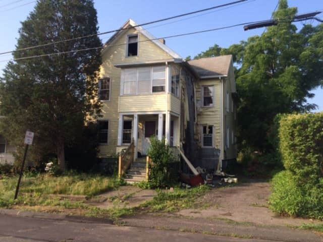A Stratford man is facing arson charges in connection with two suspicious fires at this vacant home at 30 Riverview Place this week.