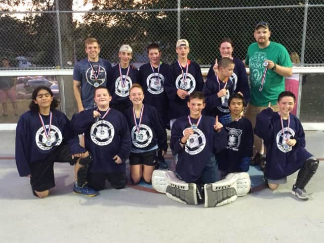Vermont won the middle school division of the Suffern DARE hockey program with an overtime victory over Providence.