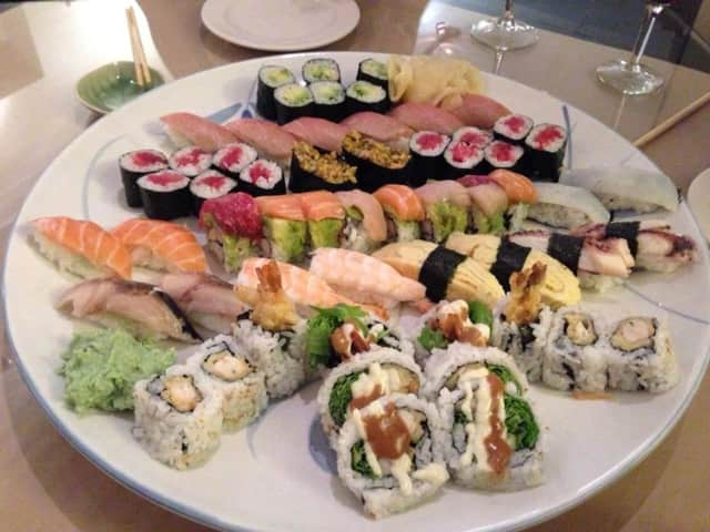 Shumi serves authentic Japanese sushi.