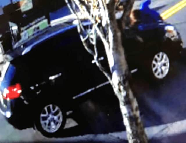 Anyone with information that could help find this SUV is asked to contact the Bergenfield Police Department: (201) 387-4000.