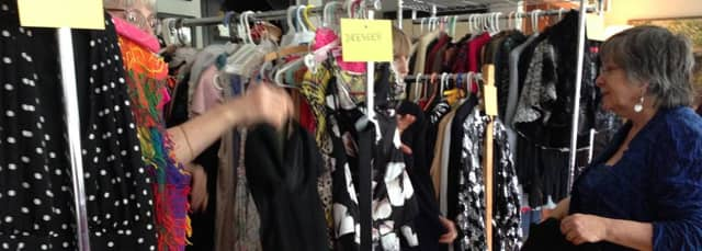 Residents can bring as many as 20 items of clothing to swap for different clothing to Sinterklass - Love It or Swap It! fundraiser --and get a free massage.