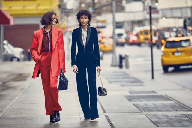 Both oversized and tailored jackets are must-haves this fall. Photographs courtesy Neiman Marcus Westchester.