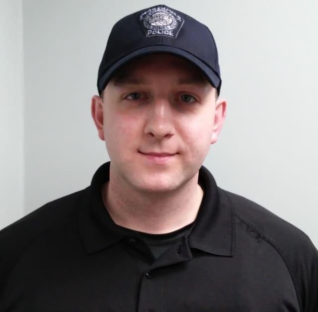Bergenfield Police Officer Matt Tauber