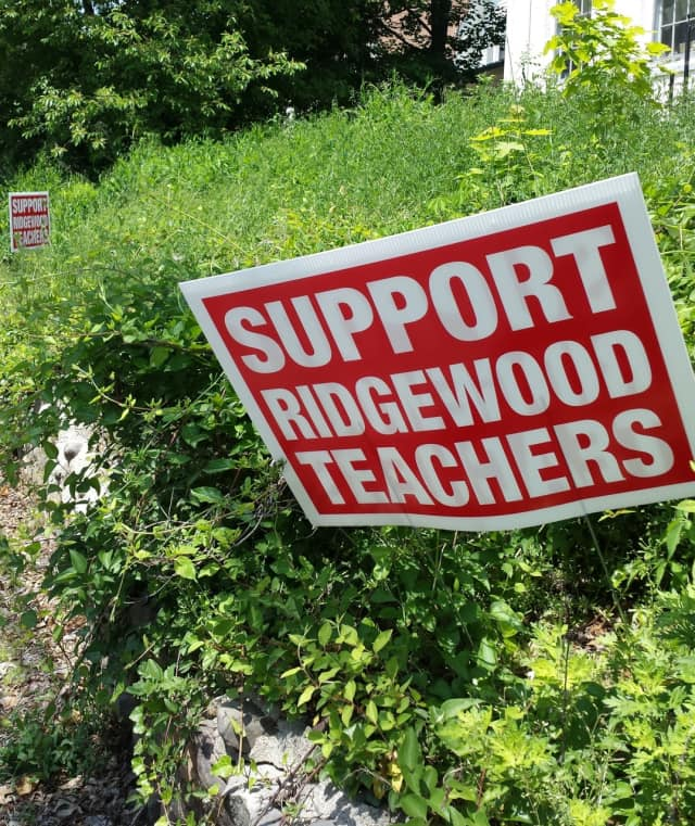 The impasse in contract negotiations between the Ridgewood Board of Education and Ridgewood Education Association has stirred passions in the village.