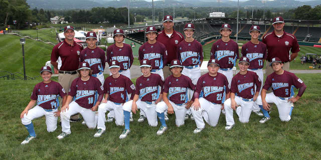 The New England Regional Little League team is from Fairfield.