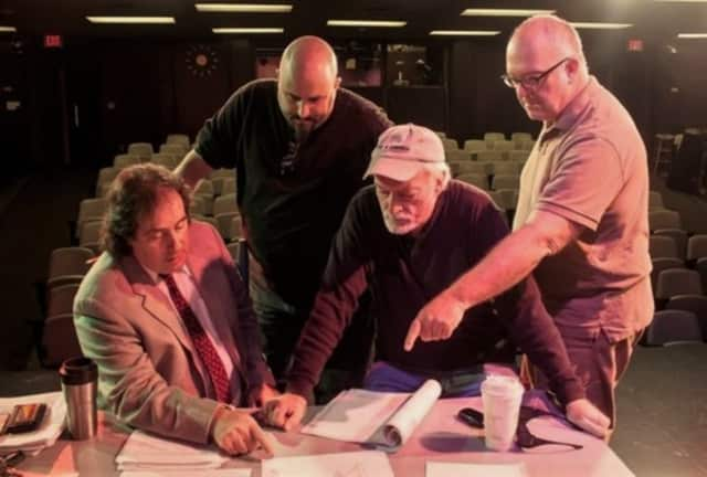 Behind the scenes at a production of The Garage Theatre Group. The group will look at racism in our culture with two plays Nov. 7 at Puffin Cultural Forum in Teaneck.