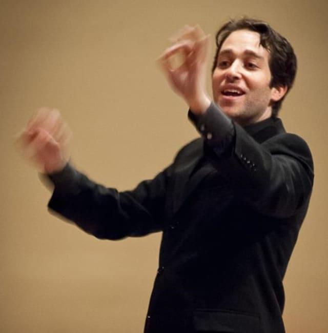 Steven Fox, music director of Pro Arte Chorale.