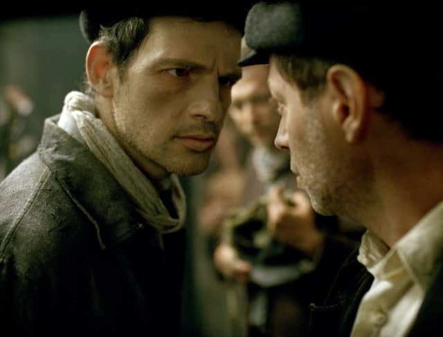 A scene from 'Son of Saul.'