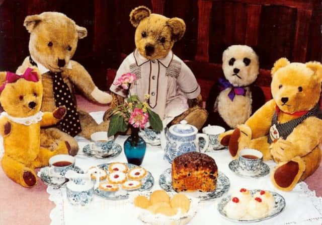 A teddy bear tea party is one of the extra spring events coming to the Fort Lee Public Library.