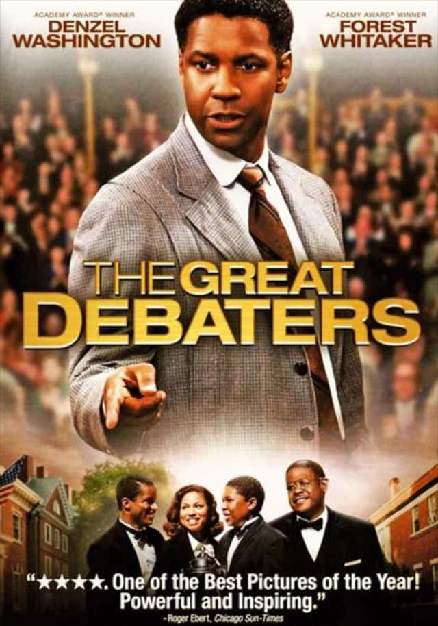 """The """"Great Debaters"""" is one of the films that will be shown on Tuesdays during February at the Mount Vernon Public Library from 2 to 4 p.m."""