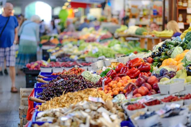 Food prices at grocery stores have increased by an average of 5.6 percent compared to the same time period last year.