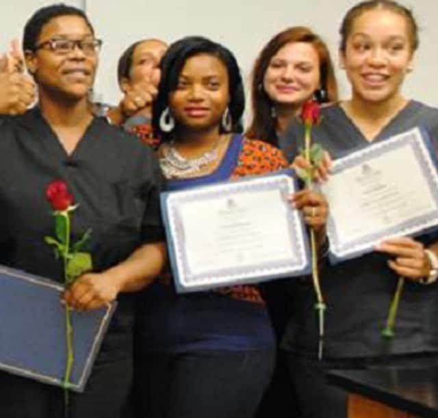 Graduates of the Health CareeRx Academy.
