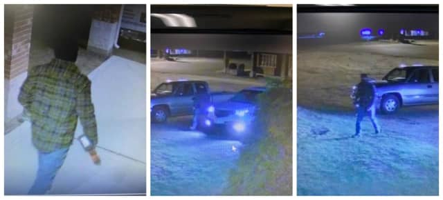 Connecticut State Police are searching for two suspects who allegedly stole catalytic converters from a Stafford business.