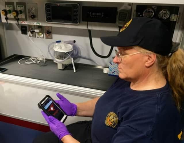 Ridgewood first responders have begun using Twiage, a smartphone-based app that streamlines emergency room triage.