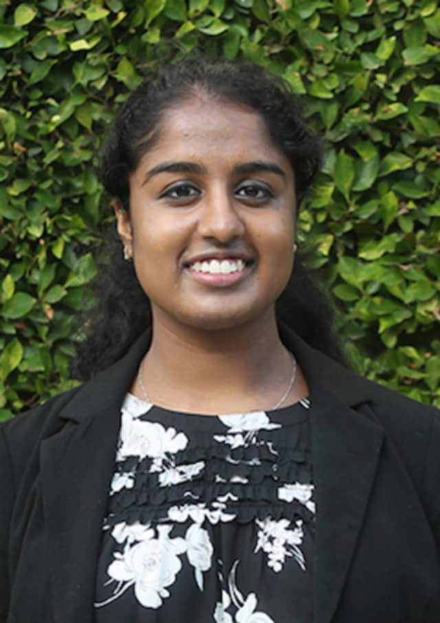Tina Lapsia of Trumbull has been selected for a spring internship at the White House.