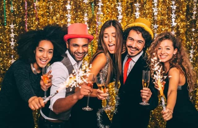 Just 9 percent of New Year's Eve revelers said they are heading out to a bar, club or organized event.