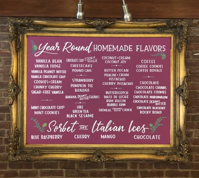 These are but the every-day flavors available at Torico Ice Cream in Jersey City.