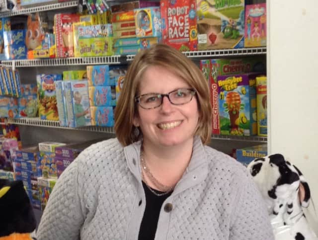Bethel resident Kimberly Ramsey, owner of The Toy Room.