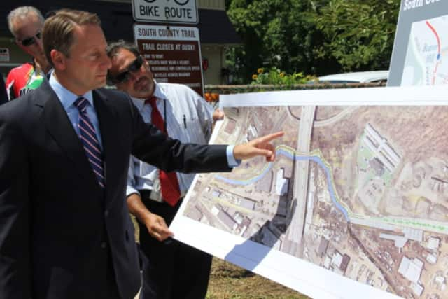 Westchester County Executive Robert Astorino discusses plans to connect the North and South trailways.