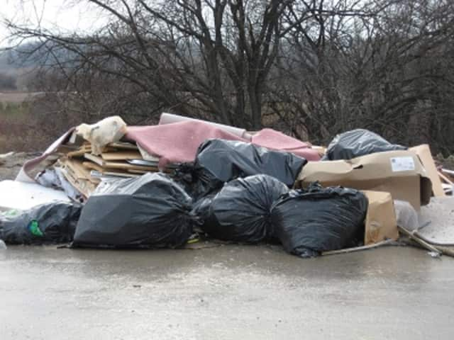 Folks who illegally dump trash in Yorktown could be facing $500 fines if the dirty deed is caught on camera, according to a just-passed anti-littering law.