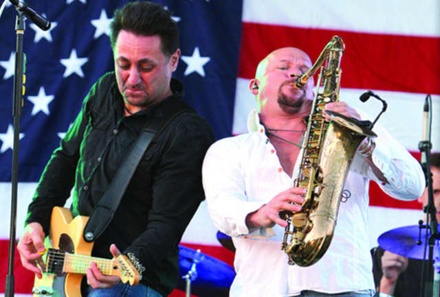 """Tramps Like Us will pay tribute to """"The Boss"""" at a fundraiser concert on May 13."""