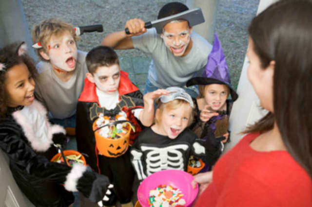 Trick or treat with the Newburgh Police this Halloween.