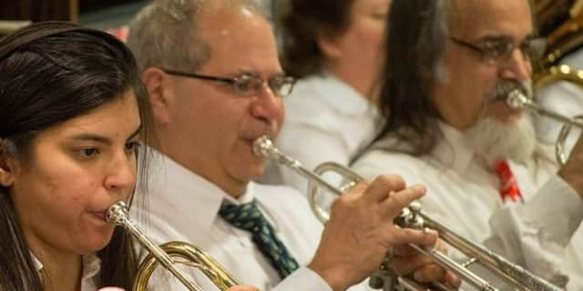 The New Jersey Concert Band will perform July 28 at the Upper Saddle River Library.