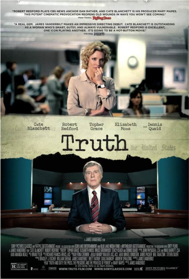 "The Picture House will host an advance screening of ""Truth"" Oct. 6."