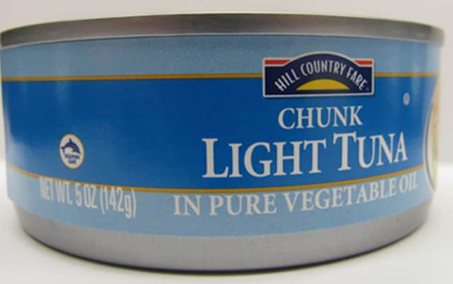 Hill Country Fare 5 oz. Chunk Light Tuna in Oil has been recalled by the U.S. Food and Drug Administration.