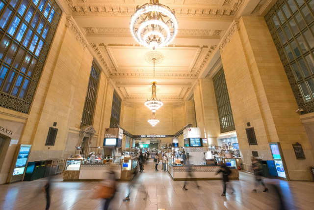 Vanderbilt Hall. Courtesy Grand Central Terminal.