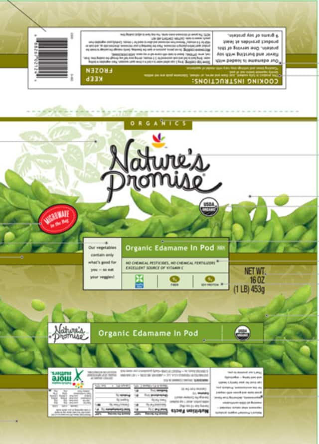 Stop and Shop is recalling Nature's Promise Organic Edamame products because they contain soy, which is not listed on the ingredient label.