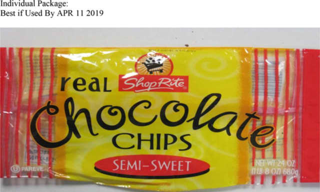 ShopRite semi-sweet chocolate chips.