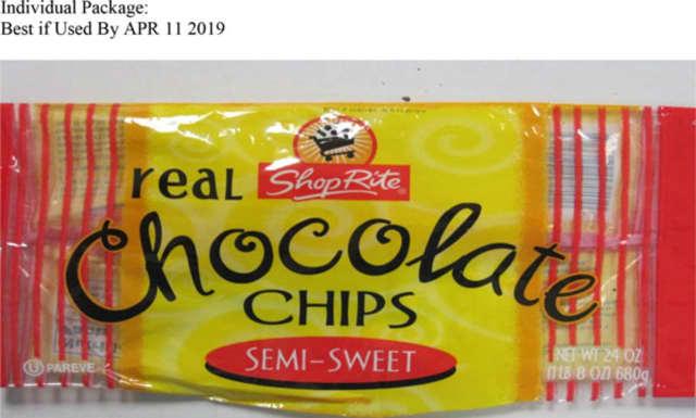 ShopRite semi-sweet chocolate chips.