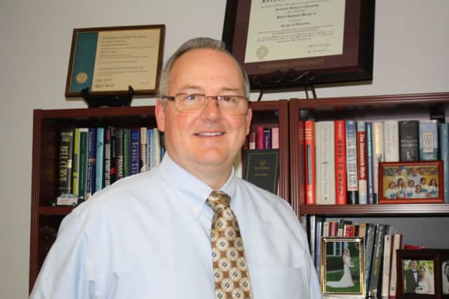 "Eastchester Schools Superintendent Dr. Walter Moran III has been named ""Man of the Year"" by a local organization."