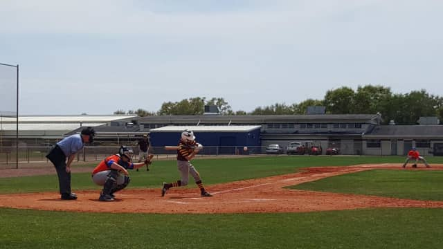 Patrick Wareham of Yonkers was among the stars who recently led Loyola School in the St. Petersburg baseball spring training tournament.